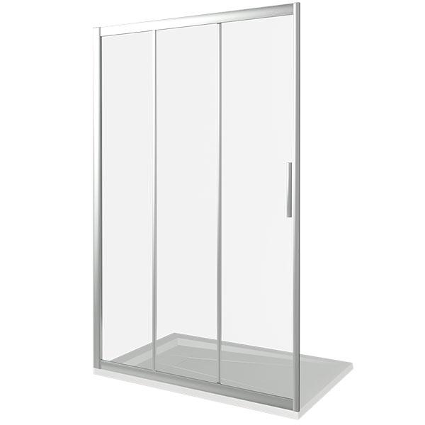 Душевая дверь Good Door Orion WTW-140 140 профиль Хром стекло прозрачное кпб b 140
