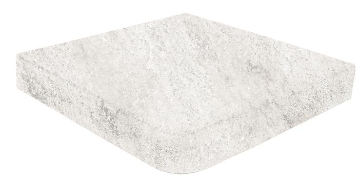 Ступень угловая Gresmanc Evolution Esquina Recto Evo White stone 31,7х31,7 см цена