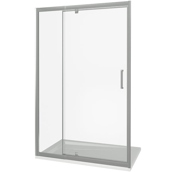 Душевая дверь Good Door Orion WTW-PD-110 110 профиль Хром стекло Grape душевая дверь good door orion wtw 110 110 профиль хром стекло grape
