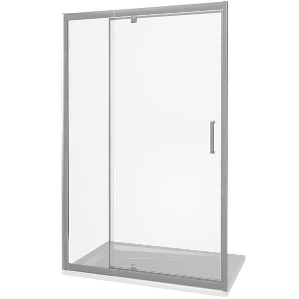 Душевая дверь Good Door Orion WTW-PD-140 140 профиль Хром стекло прозрачное кпб b 140