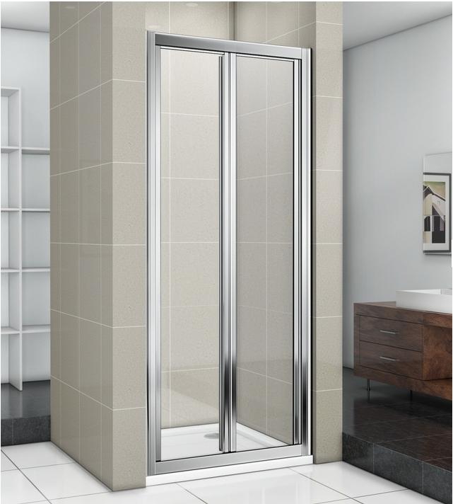 Душевая дверь в нишу Good Door Infinity SD-100 100 профиль Хром стекло прозрачное фото