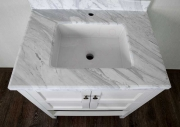 Комплект мебели для ванной Timo Ilma 76 Белый-4