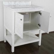 Комплект мебели для ванной Timo Ilma 76 Белый-5