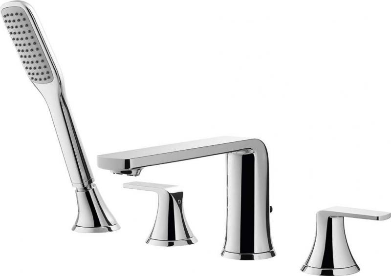 Купить Смеситель для ванны, Globo-F-BVD4-01 Хром, Cezares, Италия