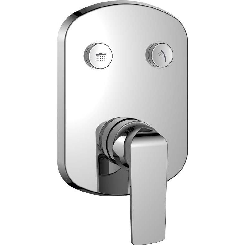 Купить Смеситель для ванны, Globo-F-VDIM2-B-01 Хром, Cezares, Италия