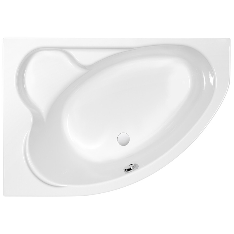 Акриловая ванна Cersanit Kaliope 153x100 L Белая