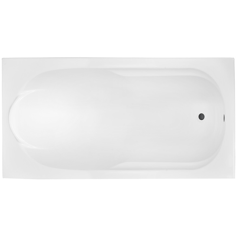 Акриловая ванна Besco Bona 170x70 без гидромассажа акриловая ванна excellent wave slim 170x70 без гидромассажа