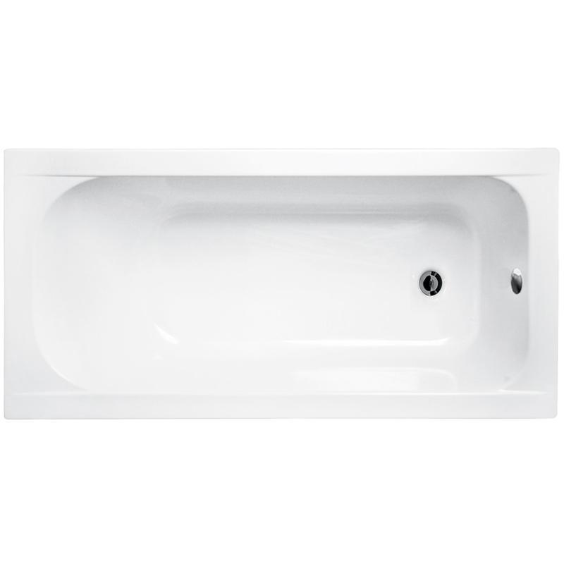 Акриловая ванна Besco Continea 150x70 без гидромассажа акриловая ванна ravak chrome 150x70 без гидромассажа c721000000