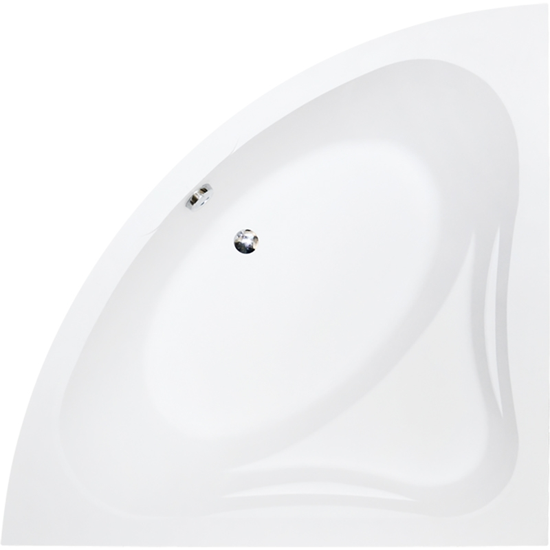 Фото - Акриловая ванна Besco Mia 140x140 без гидромассажа акриловая ванна riho neo 140x140 без гидромассажа bc3400500000000