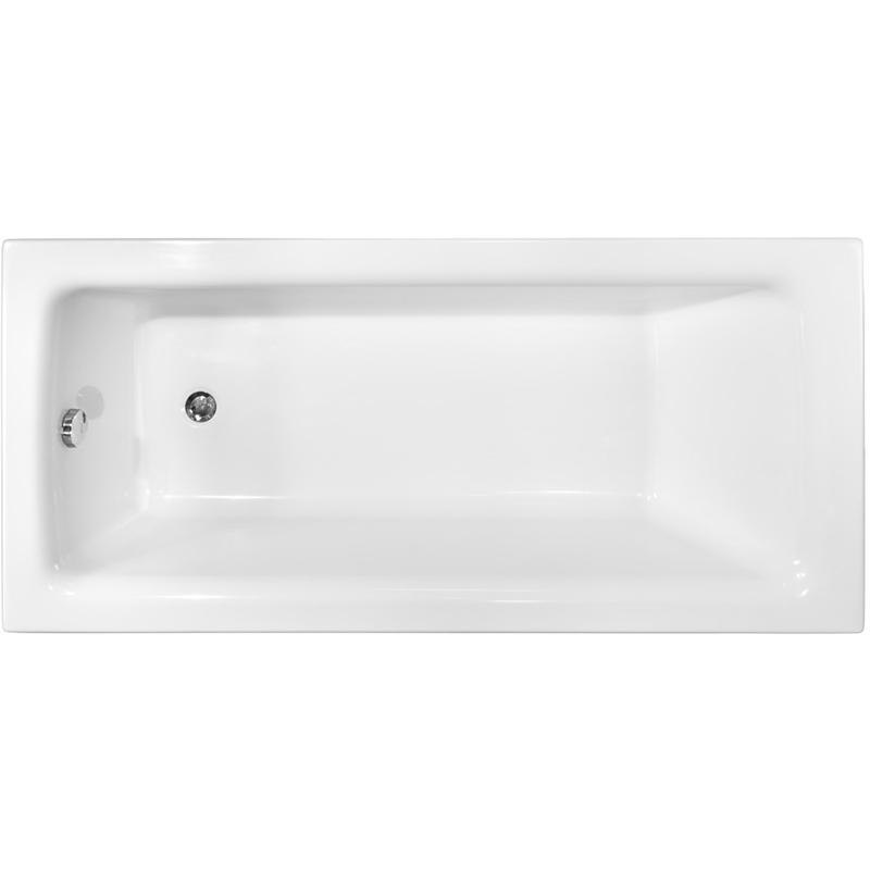 Акриловая ванна Besco Talia 150x70 без гидромассажа акриловая ванна ravak chrome 150x70 без гидромассажа c721000000