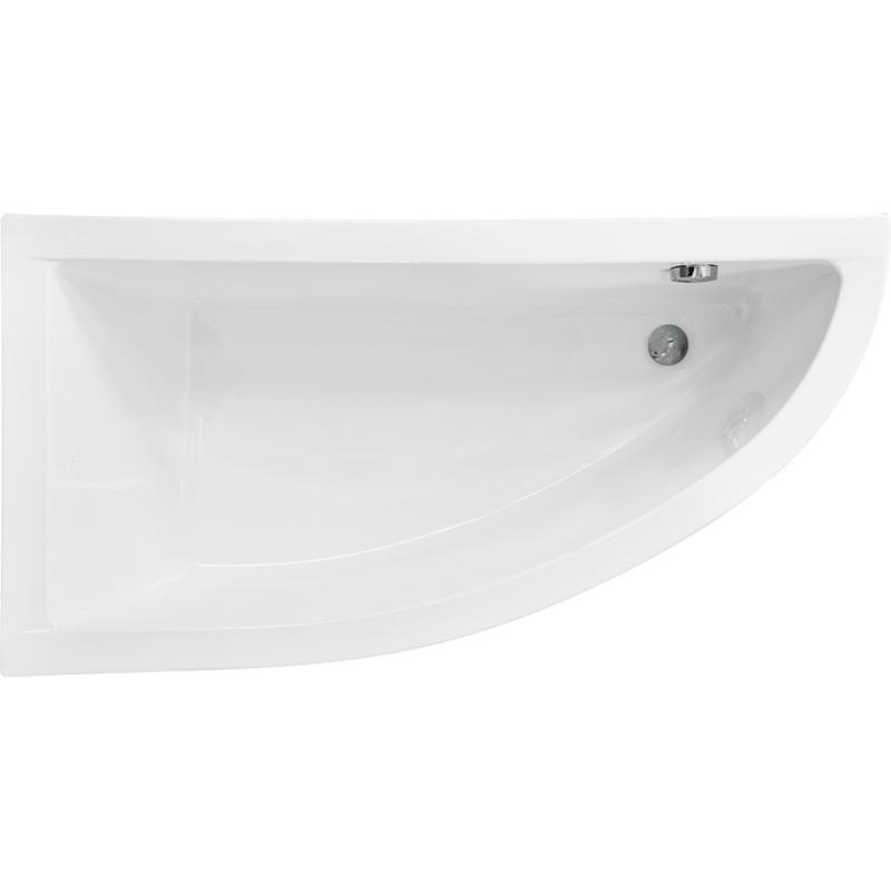 Купить Акриловая ванна, Praktika 150x70 R без гидромассажа, Besco, Польша