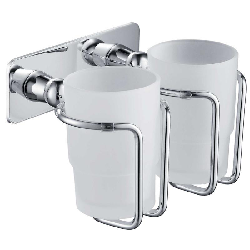 Стакан для зубных щеток Timo Nelson 150032/00 Хром стакан для ванны timo nelson двойной хром 150032 00