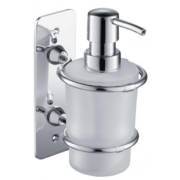 Дозатор для жидкого мыла Timo Nelson 150038/00 Хром дозатор жидкого мыла grohe contemporary встраиваемый в столешницу хром 40536000