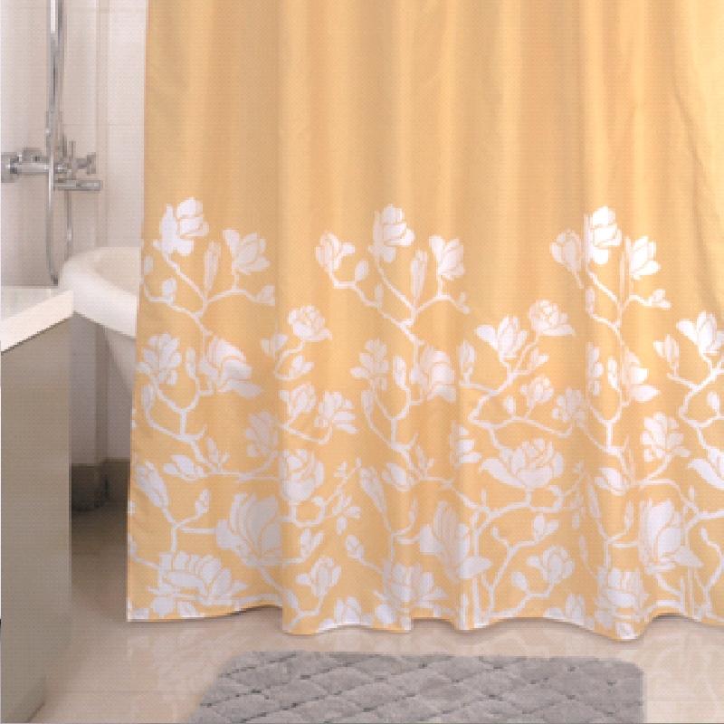 Штора для ванны Milardo Beige Silhouette 200x180 - фото