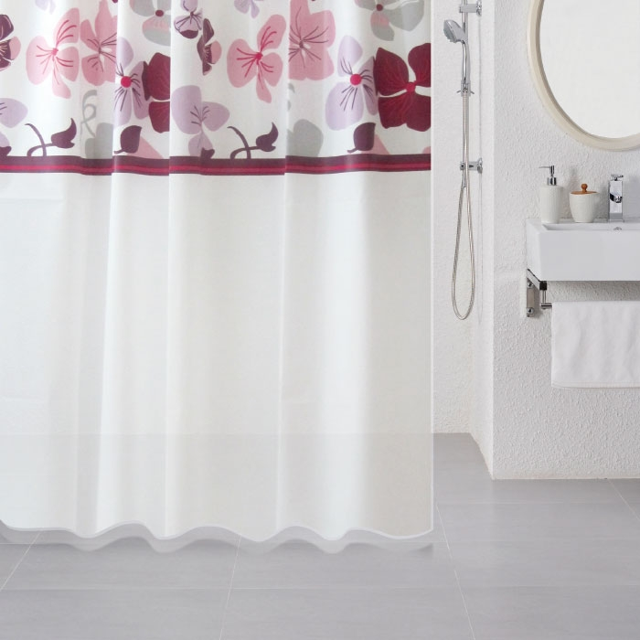 Штора для ванны Milardo Nemesia 180x180 Разноцветная штора для ванны milardo nemesia 180x180 разноцветная