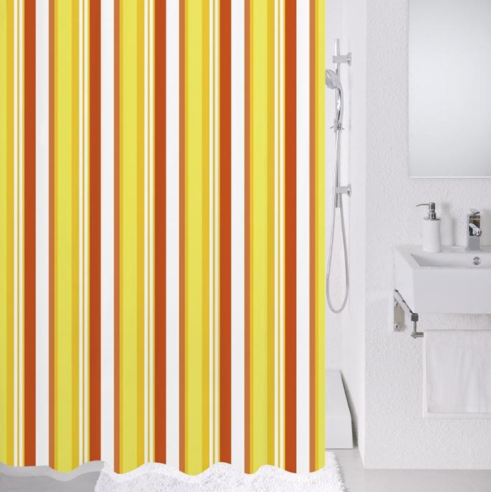 Штора для ванны Milardo Flag stripe 200x180 - фото