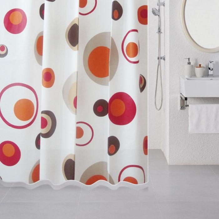 Штора для ванны Milardo Lovely Phantom 180x180 Разноцветная