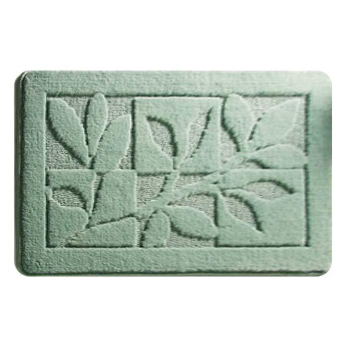 лучшая цена Коврик для ванной комнаты Milardo Green Forest 40x70 Зеленый