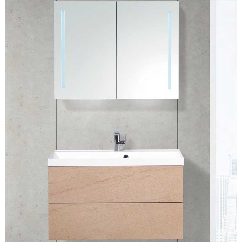 Тумба под раковину BelBagno Regina 90 подвесная Marmo Rosa мебель для ванной belbagno regina 90 marmo rosa
