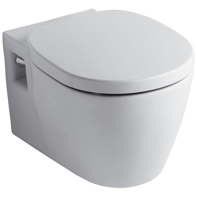 Унитаз Ideal Standard Connect E803501+E712701 подвесной с сиденьем Микролифт