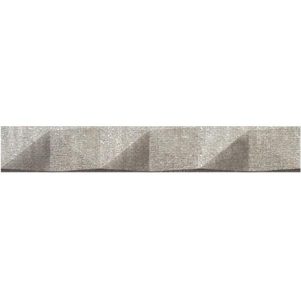 Керамический бордюр Azteca Tempo Cenefa Gris 30х3,5 см фото