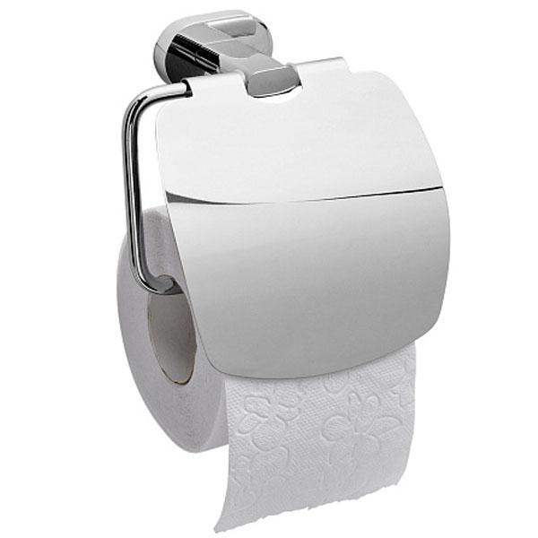 Держатель туалетной бумаги Raiber R50109 с крышкой Хром цена