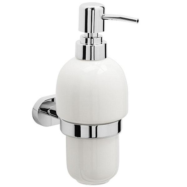 Дозатор для жидкого мыла Raiber R50115 Белый Хром