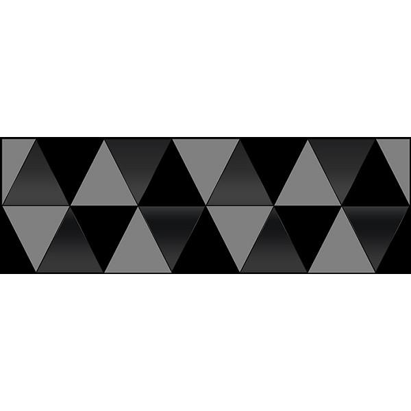 Керамический декор Ceramica Classic Sigma Perla чёрный 17-03-04-463-0 20х60 см цена в Москве и Питере
