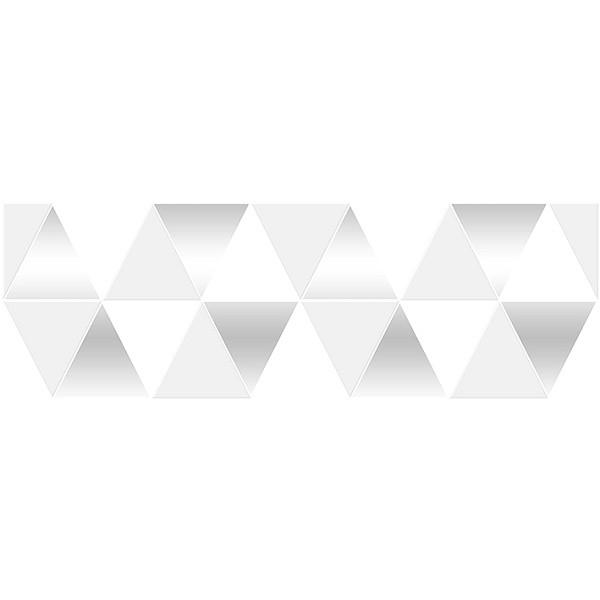 Керамический декор Ceramica Classic Sigma Perla белый 17-03-00-463-0 20х60 см керамический декор ceramica classic alcor tresor белый 17 03 01 1187 0 20х60 см