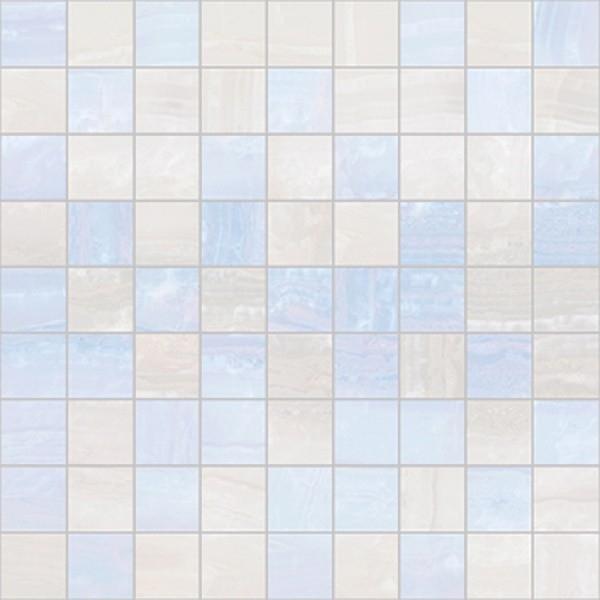 Керамическая мозаика Ceramica Classic Diadema голубой-белый 30х30 см стоимость