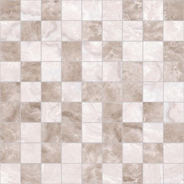 Керамическая мозаика Ceramica Classic Marmo темно-бежевый-бежевый 30х30 см