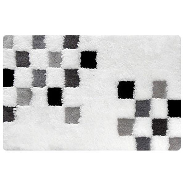 Купить Коврик для ванной комнаты, Chessboard MID220A 60x90 Белый, Iddis, Россия