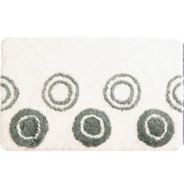 Коврик для ванной комнаты Iddis Chequers 50x80 Белый коврик для ванной iddis fields 50x80 см mid199m