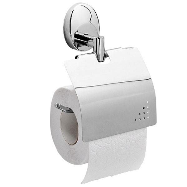 Держатель туалетной бумаги Raiber R70113 с крышкой Хром держатель для туалетной бумаги art