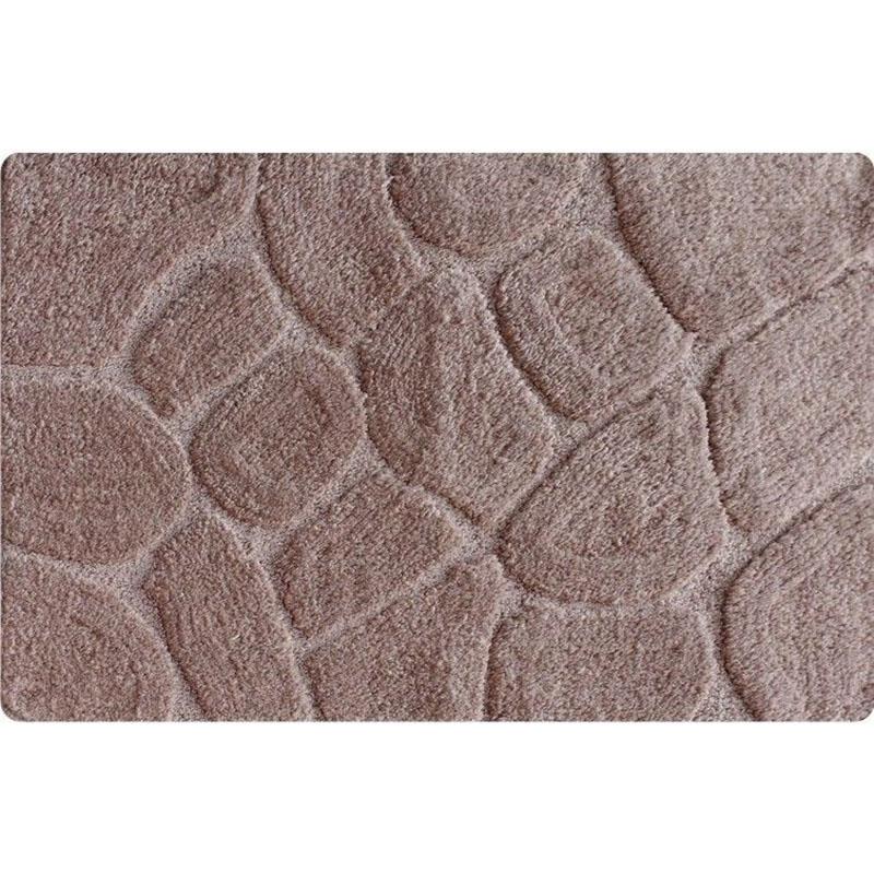 Коврик для ванной комнаты Iddis Stones 50x80 Бежевый коврик для ванной iddis fields 50x80 см mid199m