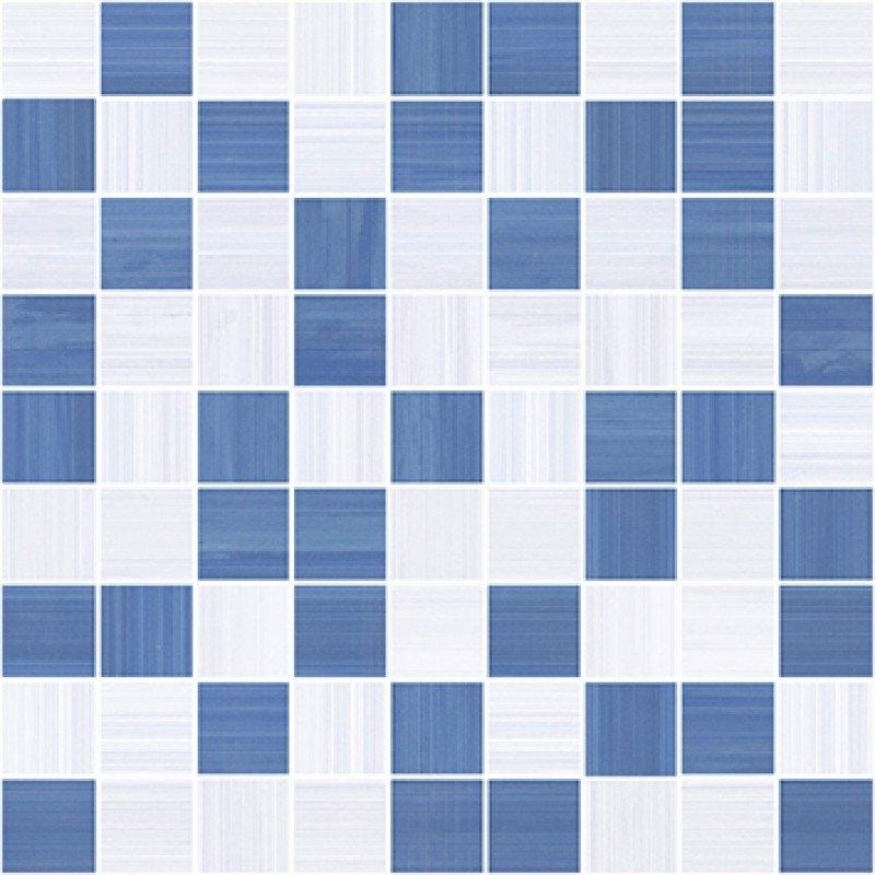 Керамическая мозаика Ceramica Classic Stripes синий-серый 30х30 см керамическая мозаика alta ceramica castelli lux 30х30 см