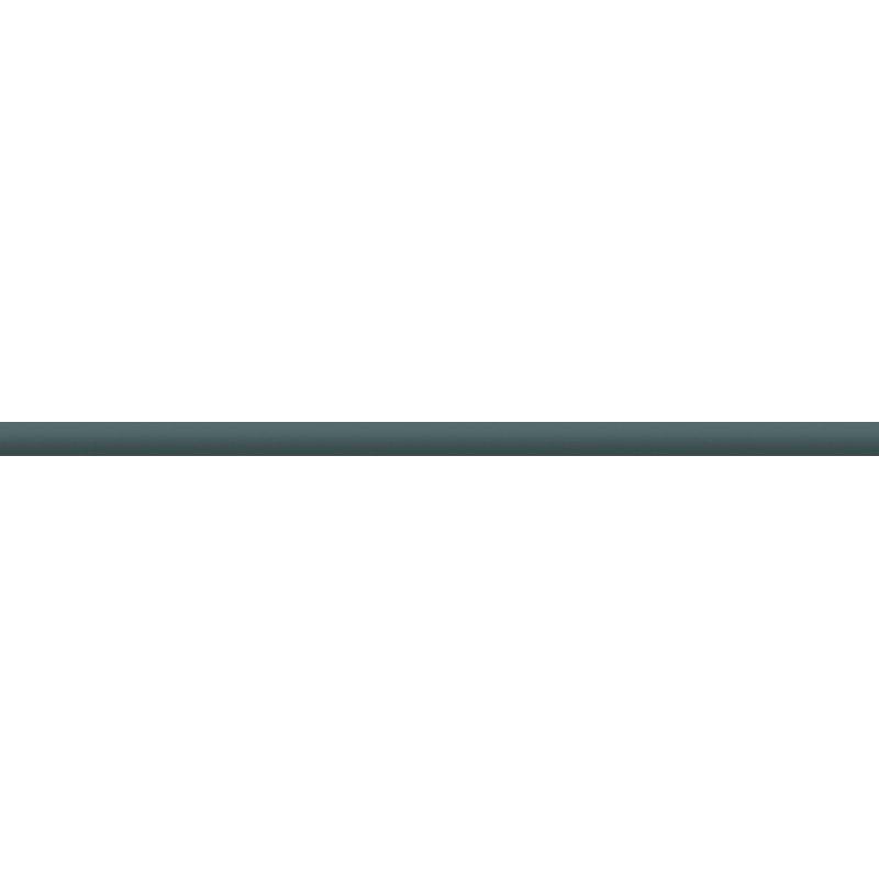 Купить Стеклянный бордюр, Чёрный 2х50 см, Ceramica Classic, Россия