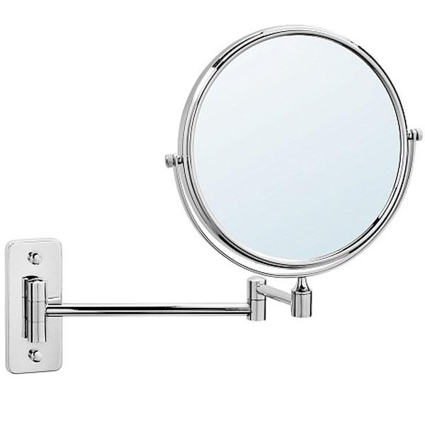 Косметическое зеркало Raiber RMM-1112 с увеличением Хром