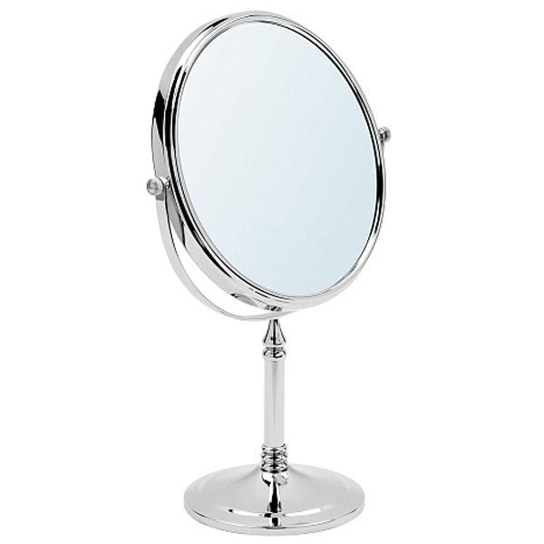 Косметическое зеркало Raiber RMM-1116 с увеличением Хром