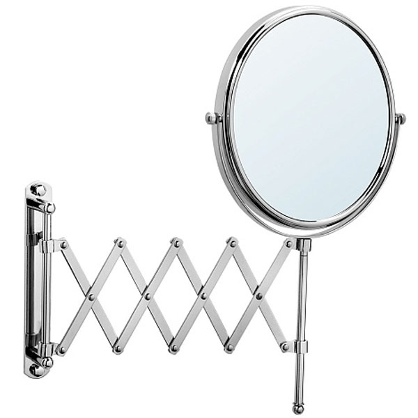 Косметическое зеркало Raiber RMM-1120 с увеличением Хром