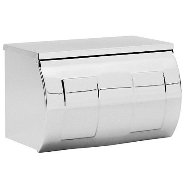 Фото - Держатель туалетной бумаги Raiber RP9086 с крышкой Хром держатель туалетной бумаги gemy xga60058t хром