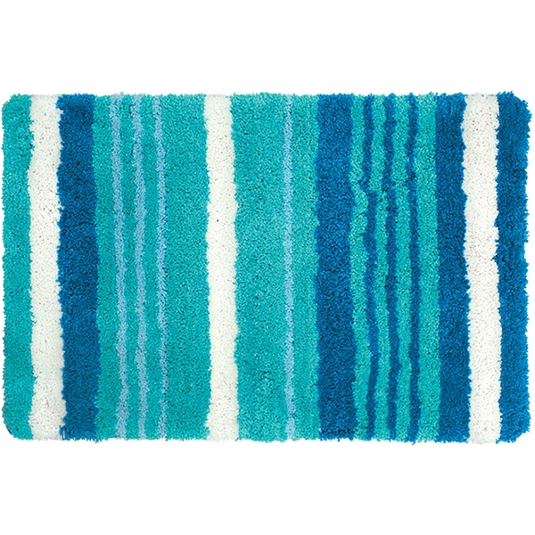 купить Коврик для ванной комнаты Iddis Blue Horizon 60x90 Синий онлайн