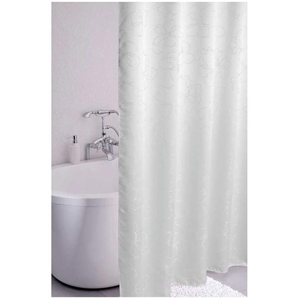 Штора для ванны Iddis Blessed spring 180x200 Белая