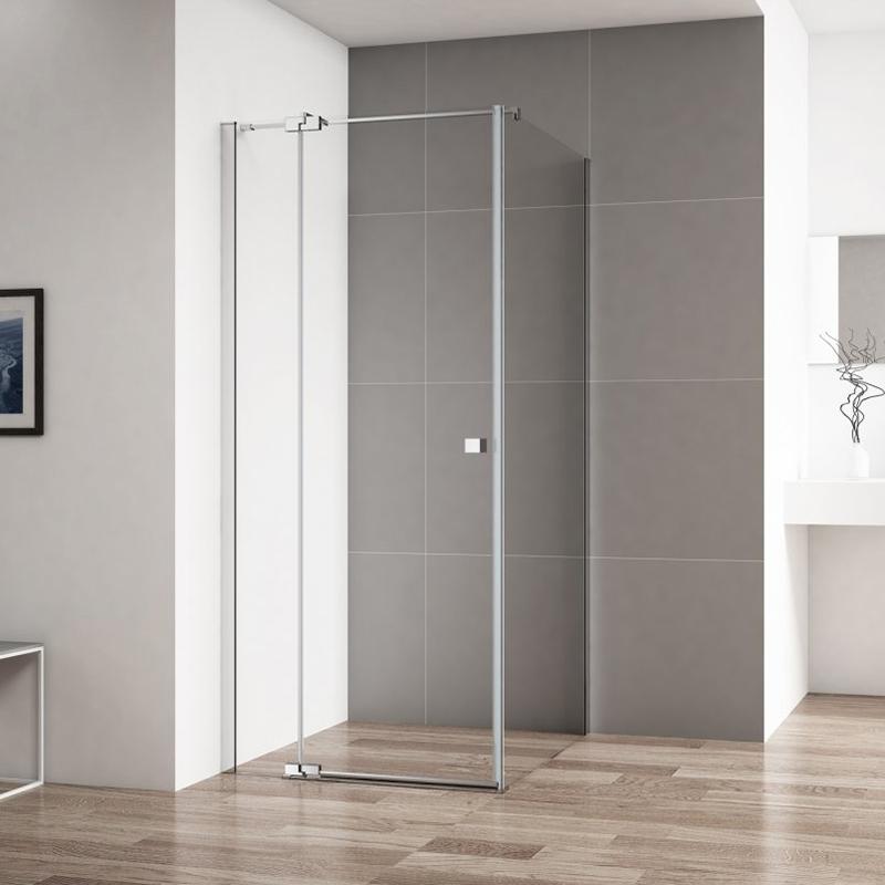 Душевой уголок Cezares Valvola 90x90 VALVOLA-A-1 профиль Хром стекло прозрачное цены онлайн
