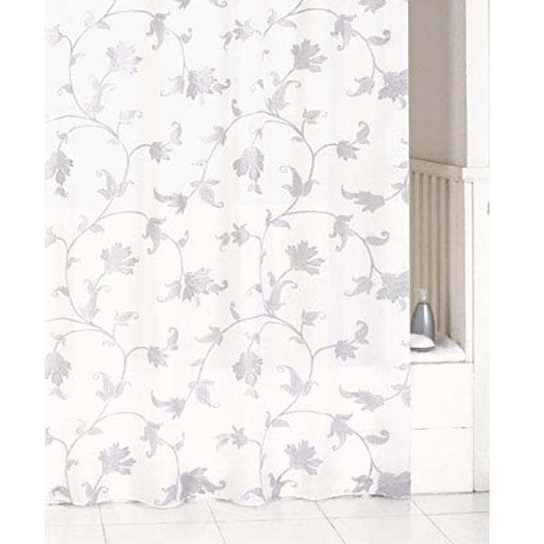 Фото - Штора для ванны Iddis Elegant 200x200 Белая Серая штора для ванны iddis cream balls 200x200 бежевая