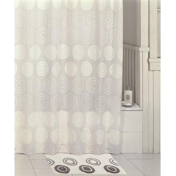 Фото - Штора для ванны Iddis Chequers 200x200 Белая штора для ванны iddis cream balls 200x200 бежевая