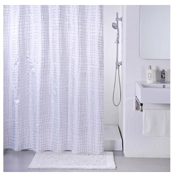 Фото - Штора для ванны Iddis Gauze 200x200 Белая штора для ванны iddis cream balls 200x200 бежевая