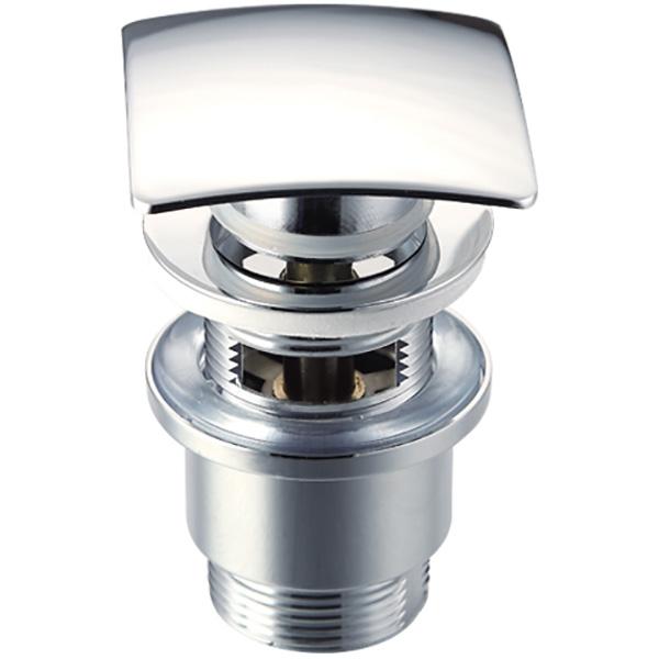 Фото - Донный клапан Raiber RLET-58 Хром донный клапан с переливом raiber rlbt 58