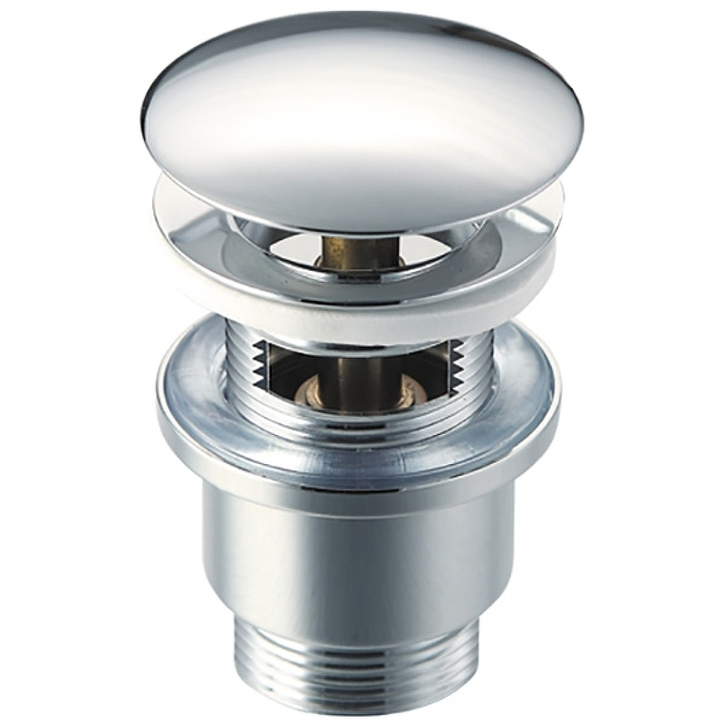 Фото - Донный клапан Raiber RLBT-58 click-clack Хром донный клапан ravak x01373 click clack хром