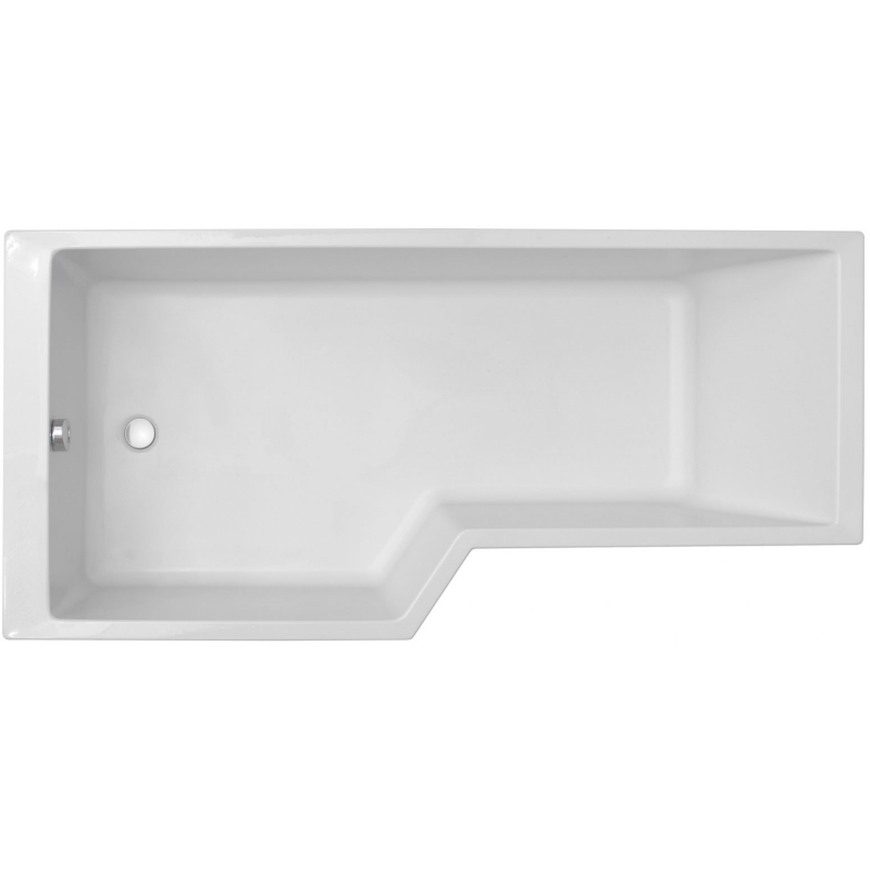 Акриловая ванна Jacob Delafon Bain Douche Neo 170x90 E6D002L-00 L без гидромассажа акриловая ванна jacob delafon bain douche neo 160x90 e6d000r 00 r без гидромассажа